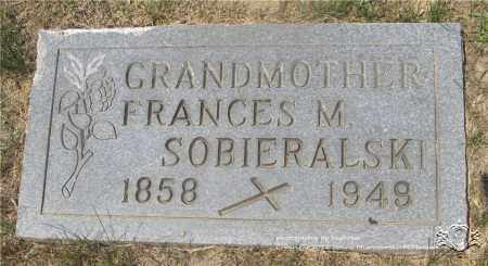 SOBIERALSKI, FRANCES M. - Lucas County, Ohio | FRANCES M. SOBIERALSKI - Ohio Gravestone Photos