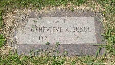 SOBOL, GENEVIEVE A. - Lucas County, Ohio | GENEVIEVE A. SOBOL - Ohio Gravestone Photos