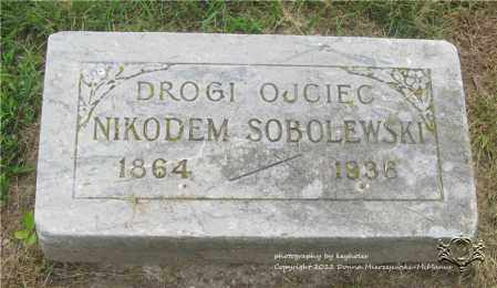 SOBOLEWSKI, NIKODEM - Lucas County, Ohio | NIKODEM SOBOLEWSKI - Ohio Gravestone Photos
