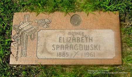 ZIELINSKI SPARAGOWSKI, ELIZABETH - Lucas County, Ohio | ELIZABETH ZIELINSKI SPARAGOWSKI - Ohio Gravestone Photos