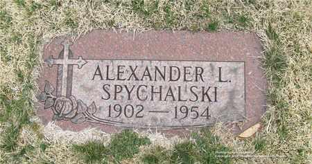 SPYCHALSKI, ALEXANDER L. - Lucas County, Ohio | ALEXANDER L. SPYCHALSKI - Ohio Gravestone Photos