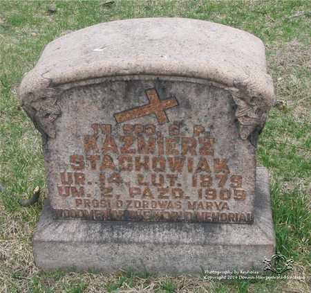 STACHOWIAK, KAZMIERZ - Lucas County, Ohio | KAZMIERZ STACHOWIAK - Ohio Gravestone Photos