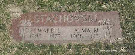 STACHOWSKI, ALMA M. - Lucas County, Ohio | ALMA M. STACHOWSKI - Ohio Gravestone Photos