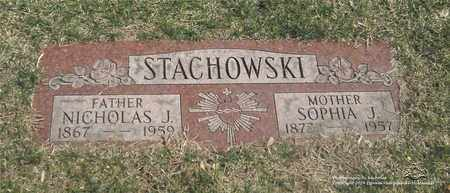 STACHOWSKI, SOPHIA J. - Lucas County, Ohio | SOPHIA J. STACHOWSKI - Ohio Gravestone Photos