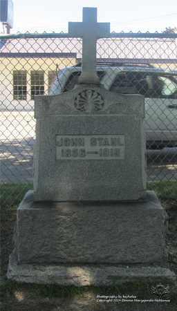 STAHL, JOHN - Lucas County, Ohio | JOHN STAHL - Ohio Gravestone Photos