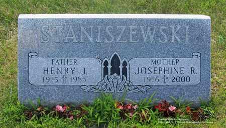 STANISZEWSKI, JOSEPHINE R. - Lucas County, Ohio | JOSEPHINE R. STANISZEWSKI - Ohio Gravestone Photos