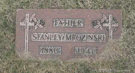 MROZINSKI, STANLEY - Lucas County, Ohio | STANLEY MROZINSKI - Ohio Gravestone Photos