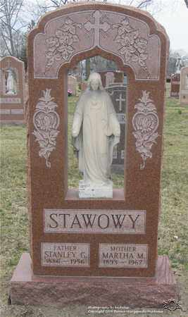 STAWOWY, MARTHA M. - Lucas County, Ohio | MARTHA M. STAWOWY - Ohio Gravestone Photos