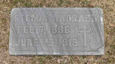 FRANKOWSKI NADRASIK, STELLA - Lucas County, Ohio | STELLA FRANKOWSKI NADRASIK - Ohio Gravestone Photos