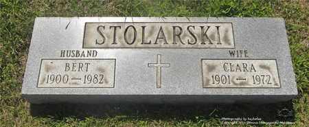 STOLARSKI, CLARA - Lucas County, Ohio | CLARA STOLARSKI - Ohio Gravestone Photos