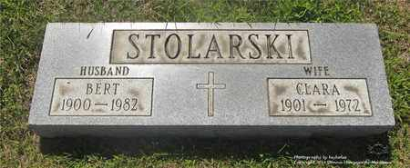 STOLARSKI, BERT - Lucas County, Ohio | BERT STOLARSKI - Ohio Gravestone Photos