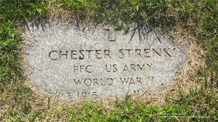 STRENKI, CHESTER - Lucas County, Ohio | CHESTER STRENKI - Ohio Gravestone Photos