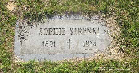 STRENKI, SOPHIE - Lucas County, Ohio | SOPHIE STRENKI - Ohio Gravestone Photos