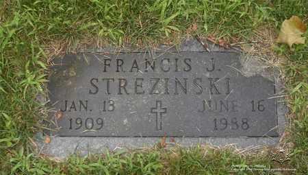 STREZINSKI, FRANCIS J. - Lucas County, Ohio | FRANCIS J. STREZINSKI - Ohio Gravestone Photos