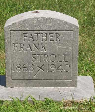STROLL, FRANK - Lucas County, Ohio | FRANK STROLL - Ohio Gravestone Photos