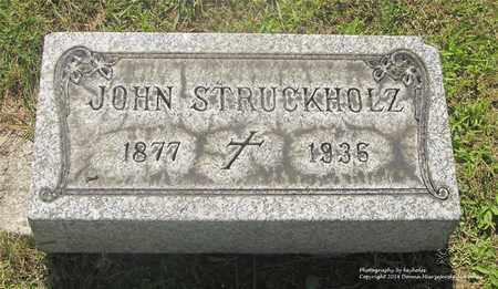 STRUCKHOLZ, JOHN - Lucas County, Ohio | JOHN STRUCKHOLZ - Ohio Gravestone Photos
