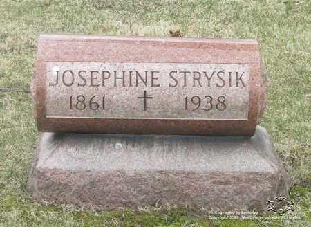 CZAPLEWSKI STRYSIK, JOSEPHINE - Lucas County, Ohio | JOSEPHINE CZAPLEWSKI STRYSIK - Ohio Gravestone Photos