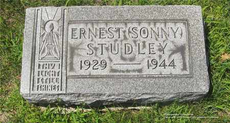 STUDLEY, ERNEST (SONNY) - Lucas County, Ohio | ERNEST (SONNY) STUDLEY - Ohio Gravestone Photos