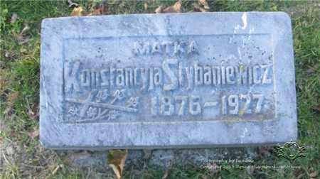 KONIECZNY STYBANIEWICZ, KONSTANCJA - Lucas County, Ohio | KONSTANCJA KONIECZNY STYBANIEWICZ - Ohio Gravestone Photos