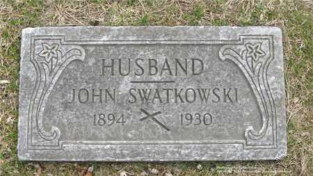 SWATKOWSKI, JOHN - Lucas County, Ohio | JOHN SWATKOWSKI - Ohio Gravestone Photos