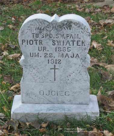 SWIATEK, PIOTR - Lucas County, Ohio | PIOTR SWIATEK - Ohio Gravestone Photos