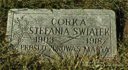 SWIATEK, STEFANIA - Lucas County, Ohio | STEFANIA SWIATEK - Ohio Gravestone Photos