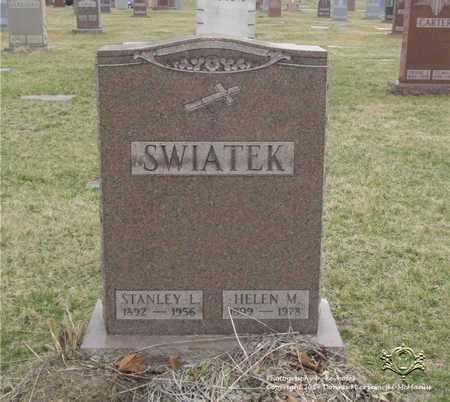 KONCZAL SWIATEK, HELEN M. - Lucas County, Ohio | HELEN M. KONCZAL SWIATEK - Ohio Gravestone Photos