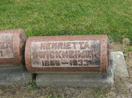CLARK SWICKHEIMER, HENRIETTA - Lucas County, Ohio | HENRIETTA CLARK SWICKHEIMER - Ohio Gravestone Photos