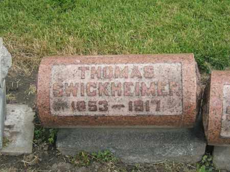 SWICKHEIMER, THOMAS GOTTLIEB - Lucas County, Ohio | THOMAS GOTTLIEB SWICKHEIMER - Ohio Gravestone Photos