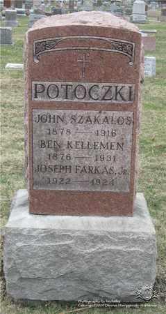 SZAKALOS, JOHN - Lucas County, Ohio | JOHN SZAKALOS - Ohio Gravestone Photos