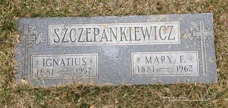 SZCZEPANKIEWICZ, IGNATIUS - Lucas County, Ohio | IGNATIUS SZCZEPANKIEWICZ - Ohio Gravestone Photos