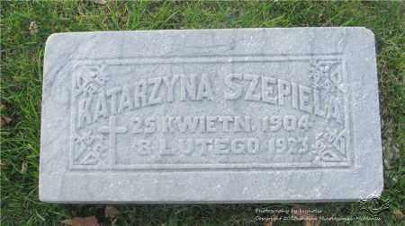 SZEPIELA, KATARZYNA - Lucas County, Ohio | KATARZYNA SZEPIELA - Ohio Gravestone Photos
