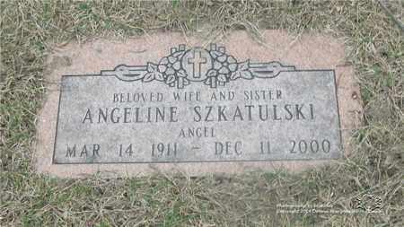 SZKATULSKI, ANGELINE (ANGELA) - Lucas County, Ohio | ANGELINE (ANGELA) SZKATULSKI - Ohio Gravestone Photos