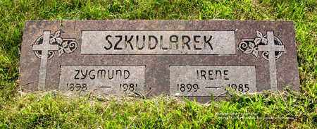 SZKUDLAREK, ZYGMUND - Lucas County, Ohio | ZYGMUND SZKUDLAREK - Ohio Gravestone Photos