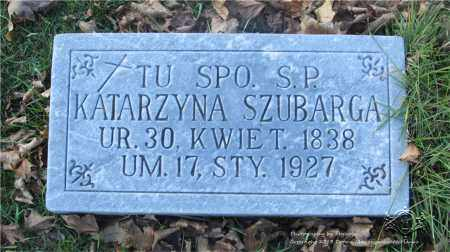 SZUBARGA, KATARZYNA - Lucas County, Ohio | KATARZYNA SZUBARGA - Ohio Gravestone Photos