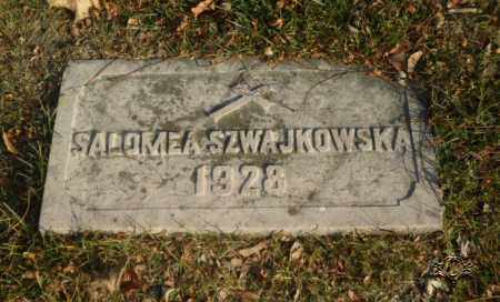 SZWAJKOWSKA, SALOMEA - Lucas County, Ohio | SALOMEA SZWAJKOWSKA - Ohio Gravestone Photos