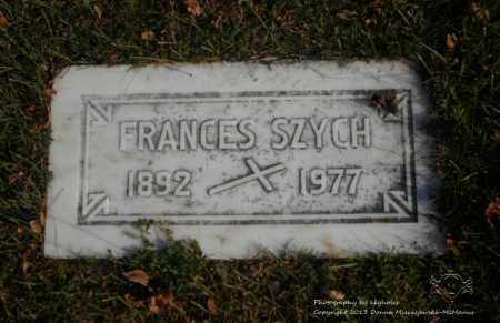 SZYCH, FRANCES - Lucas County, Ohio | FRANCES SZYCH - Ohio Gravestone Photos