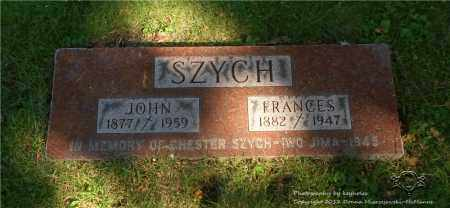 SZYCH, CHESTER - Lucas County, Ohio | CHESTER SZYCH - Ohio Gravestone Photos