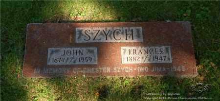 SZYCH, JOHN - Lucas County, Ohio | JOHN SZYCH - Ohio Gravestone Photos