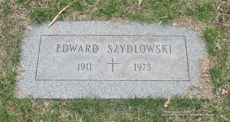 SZYDLOWSKI, EDWARD - Lucas County, Ohio | EDWARD SZYDLOWSKI - Ohio Gravestone Photos