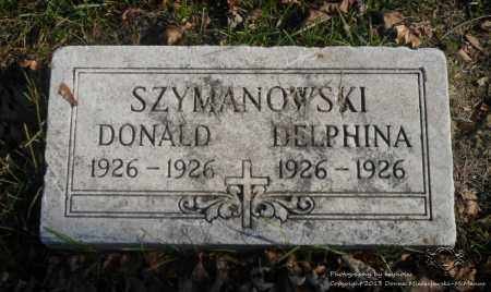 SZYMANOWSKI, DONALD - Lucas County, Ohio | DONALD SZYMANOWSKI - Ohio Gravestone Photos