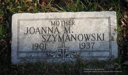 BAWOLSKI SZYMANOWSKI, JOANNA M. - Lucas County, Ohio | JOANNA M. BAWOLSKI SZYMANOWSKI - Ohio Gravestone Photos