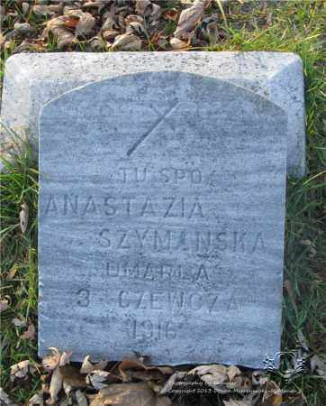 SZYMANSKA, ANASTAZIA - Lucas County, Ohio | ANASTAZIA SZYMANSKA - Ohio Gravestone Photos