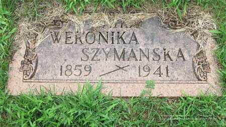 SZYMANSKA, WERONIKA - Lucas County, Ohio | WERONIKA SZYMANSKA - Ohio Gravestone Photos