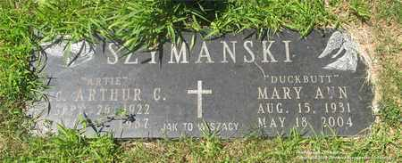 SZYMANSKI, MARY ANN - Lucas County, Ohio | MARY ANN SZYMANSKI - Ohio Gravestone Photos