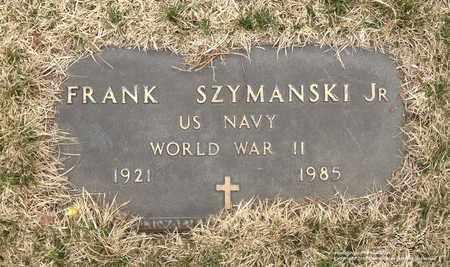 SZYMANSKI, FRANK - Lucas County, Ohio | FRANK SZYMANSKI - Ohio Gravestone Photos