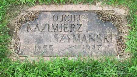 SZYMANSKI, KAZMIERZ - Lucas County, Ohio | KAZMIERZ SZYMANSKI - Ohio Gravestone Photos