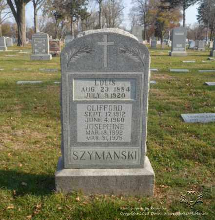 SZYMANSKI, CLIFFORD - Lucas County, Ohio | CLIFFORD SZYMANSKI - Ohio Gravestone Photos