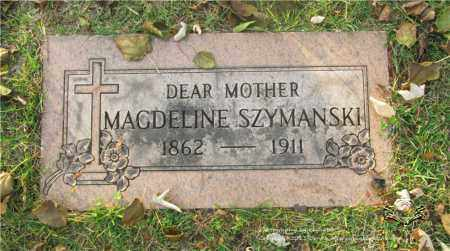 WOZNIAK SZYMANSKI, MAGDELINE - Lucas County, Ohio | MAGDELINE WOZNIAK SZYMANSKI - Ohio Gravestone Photos