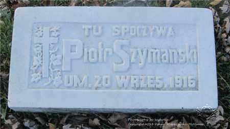 SZYMANSKI, PIOTR - Lucas County, Ohio | PIOTR SZYMANSKI - Ohio Gravestone Photos